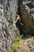 Rock Climbing Photo: Shealyn's way
