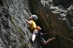 Rock Climbing Photo: Shealyn's way
