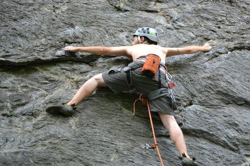 Rock Climbing Photo: Easily Amused