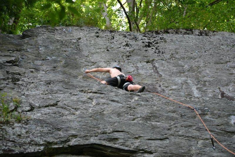 Rock Climbing Photo: Glory Jean's