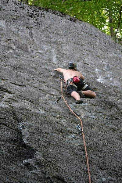 Rock Climbing Photo: !