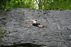 Rock Climbing Photo: The traverse
