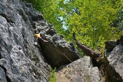 Rock Climbing Photo: Some interesting moves