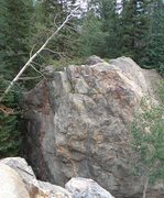 Rock Climbing Photo: Every Which Way But Loose  -this is looking down f...