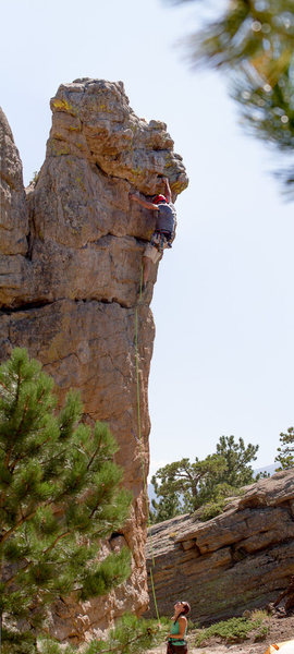 Rock Climbing Photo: Panoramic of the full route, Rip Off Ranger.