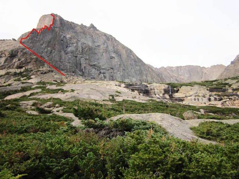 Rock Climbing Photo: The view from the trail at Solitude Lake.