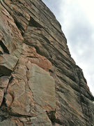 Rock Climbing Photo: Looking up 'The Nose' route.