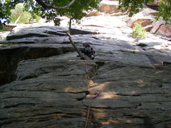 Rock Climbing Photo: Me Leading 1st Pitch of Jackie