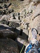Rock Climbing Photo: Standard route.
