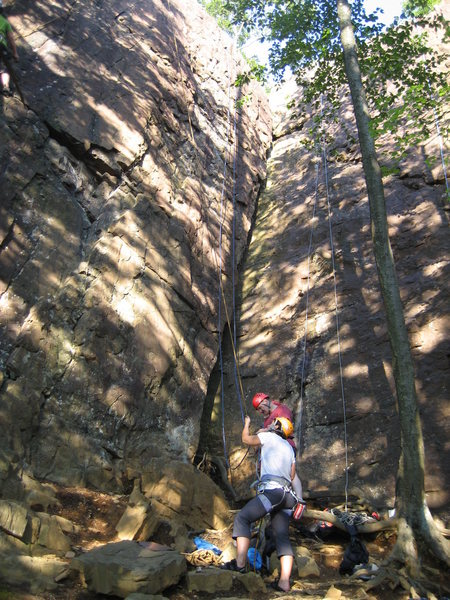 Rock Climbing Photo: Ignore the ropes and climbers.  It's the corner cr...