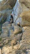 Rock Climbing Photo: Erik on TR