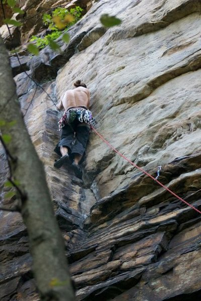 Rock Climbing Photo: toe jamming gooood