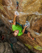 Rock Climbing Photo: Test-driving the Ra on Psychatomic.  Matthew Oscad...