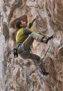 Rock Climbing Photo: Ramon Julian onsighting Living in Fear, 5.13d, Rif...