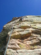 Rock Climbing Photo: TR setup on Rapture of the Steep