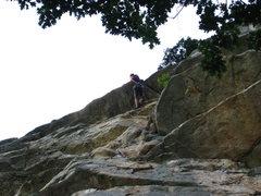 Rock Climbing Photo: Alphonse to Sissy Boys link-up