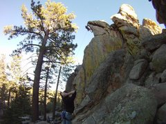 Rock Climbing Photo: Holcomb