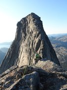 Rock Climbing Photo: coming down the 'normal route' from Stetind (1400 ...
