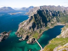Rock Climbing Photo: Lofoten Islands, Norway