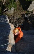 Rock Climbing Photo: following a nice pitch in the Lofoten Islands, Nor...