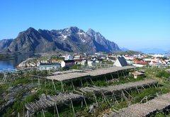 Rock Climbing Photo: Lofoten Islands, Norway from Henningsvaer... not a...