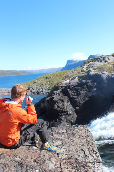 Stora Sjofallet National Park, Sweden, close to where I've been living/working....