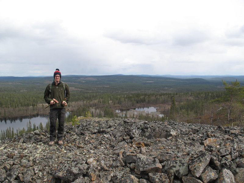 my office! Gallivare, Sweden, May 2012