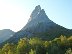 Rock Climbing Photo: Stetind, Norway's National Mountain, from the wate...