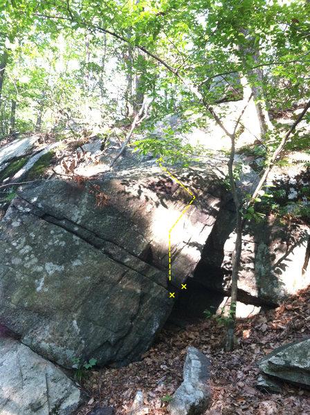 Rock Climbing Photo: G13