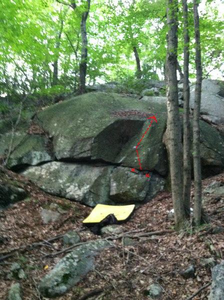 Rock Climbing Photo: ChemDog