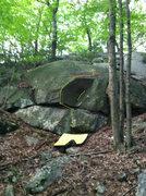 Rock Climbing Photo: Bluedream