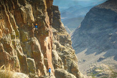 Rock Climbing Photo: Unknown party on the Southwest Corner from the Pet...