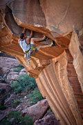 Rock Climbing Photo: Rockin' the Teneya Masai on Risk Brothers Roof