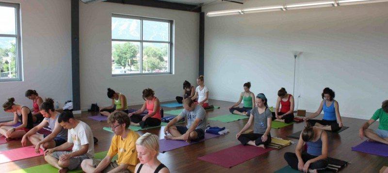 Movement yoga room.
