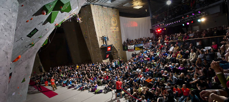 Rock Climbing Photo: Movement during IFSC World Cup Finals.