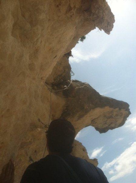 Rock Climbing Photo: Looking up @ P3 Urban Assault