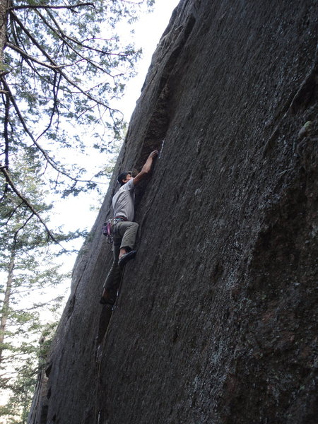 Rock Climbing Photo: Street Hassle