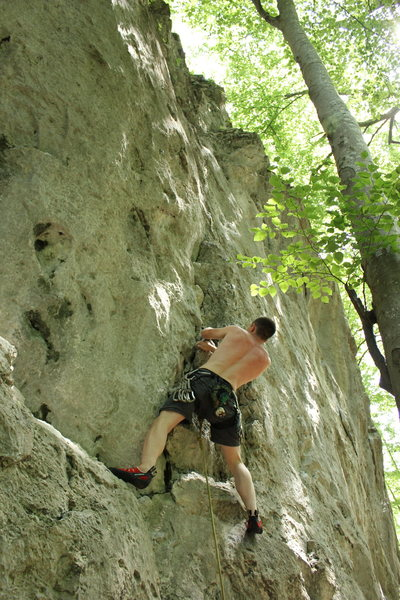Kochel sport climbing
