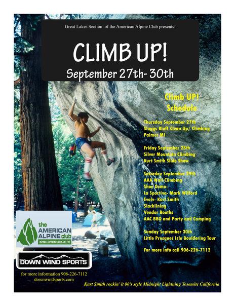 CLIMB UP! September 27-30th 2012