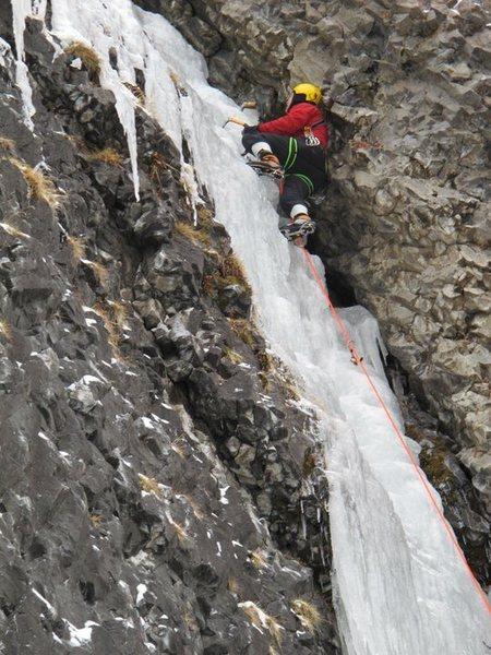 Rock Climbing Photo: ice!