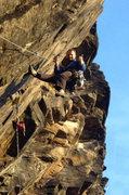 Rock Climbing Photo: Super Steep!