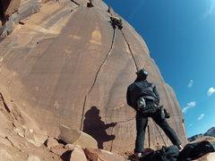 Rock Climbing Photo: Crisp April afternoon climbing