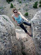 Rock Climbing Photo: Top of Beer Bong