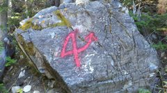 Rock Climbing Photo: Easy to find trail Markings i found after i took t...