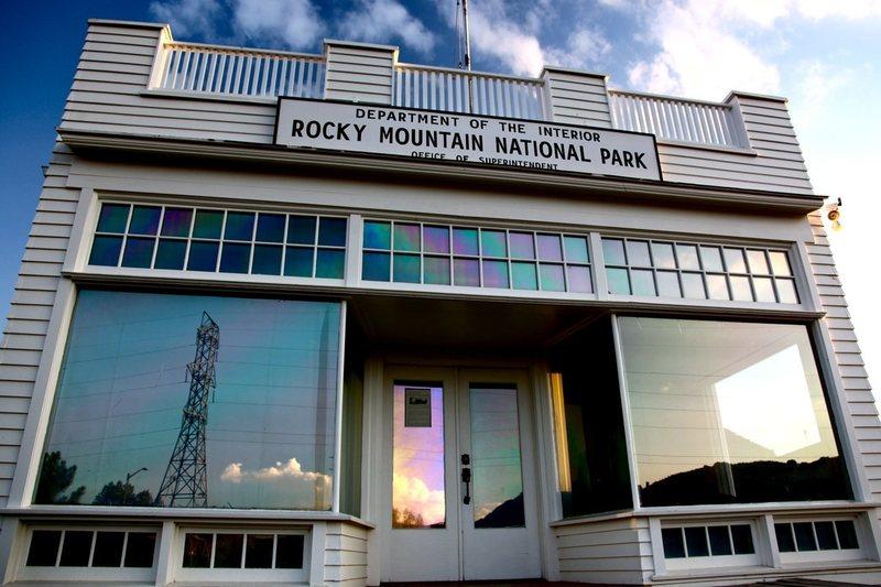 Rocky Mountain National Park Original Headquarters. Estes Park, CO.