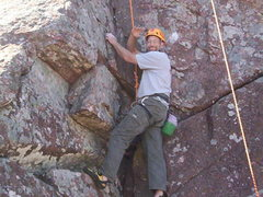 Rock Climbing Photo: Ol' man climbing.