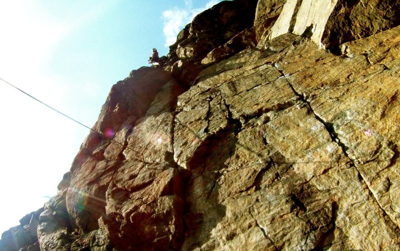 Rock Climbing Photo: clear creek canyon