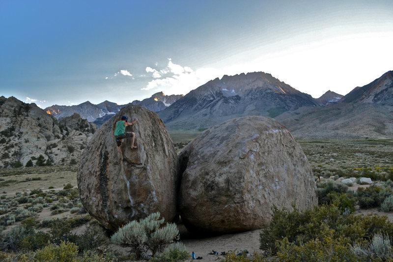 Rock Climbing Photo: the buttermilks. bishop,california