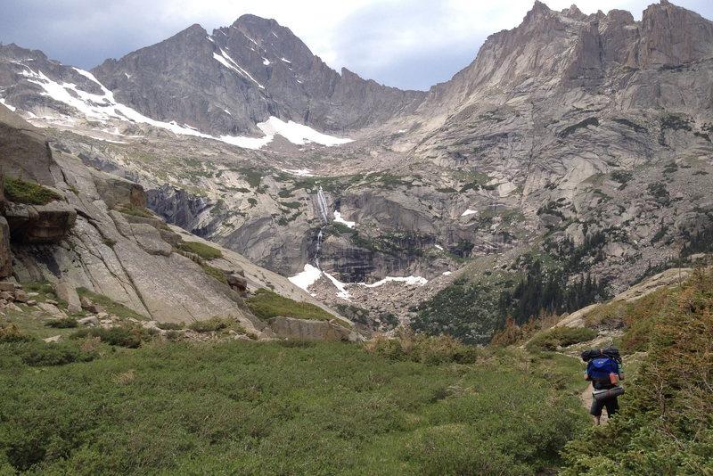 Glacier Gorge, Alpine Wonderland..