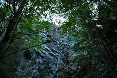Rock Climbing Photo: James climbs the dihedral